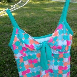 Kim Rogers Swim - Kim by Kim Rogers Swimwear Tankini Size Small
